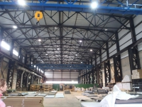 Техническое обследование строительных конструкций производственного здания в г.Березовский Свердловской области.