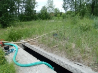 Визуально-инструментальное обследование незавершенных строительством конструкций промышленного водовода