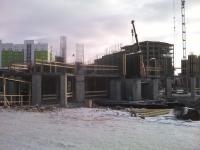 Работы по возведению монолитных железобетонных конструкций