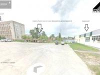 Схематичное расположение строящегося и существующих зданий