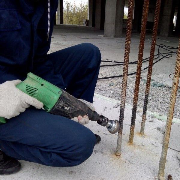 очистка арматурных стержней от коррозии